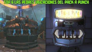 "TOP 6 ""LAS PEORES UBICACIONES DEL PACK A PUNCH EN CALL OF DUTY ZOMBIES"""