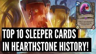 Top 10 Sleeper Cards of All Time! | Scholomance Academy | Hearthstone