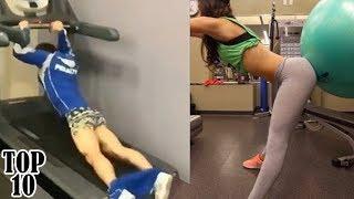 Top 10 Funniest Gym Fails - Part 3