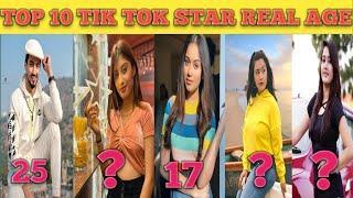 Top 10 Tik Tok Star Real Age 2020 |Mr Faisu Riyaz Jannat Zubair Gima Somya Faizal Avneet Kaur