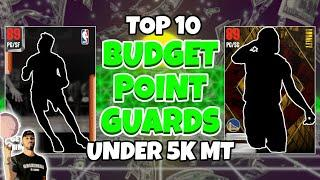 Top 10 Budget Point Guards for under 5k Mt in NBA 2K21 MyTeam