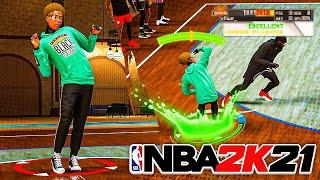 I BROUGHT MY DREAM BUILD TO THE 1V1 COURT IN NBA 2k21! Slasher Build NBA 2k21