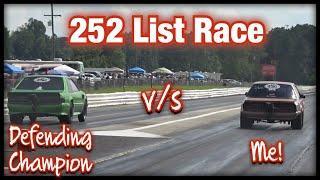 Race Day, Street Outlaws Style, 252 List Race