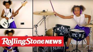Watch 10-Year-Old Drummer Nandi Bushell Perform Dave Grohl Theme Song | RS News 10/2/20