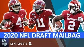 NFL Draft Rumors On Jerry Jeudy, CeeDee Lamb & Henry Ruggs, Jordan Love & Jalen Hurts | Mailbag