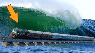 10 Most Dangerous Railway Bridges In The World!