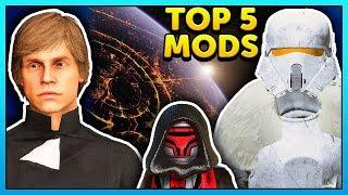 Star Wars Battlefront 2 Top 5 Mods of the Week - Mod Showcase #99
