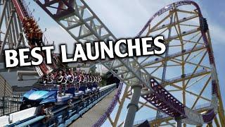 Top 10 Roller Coaster Launches in the World