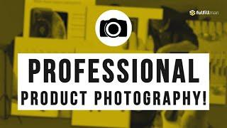 Improve Your Conversion Rate with FULFILLMAN PROFESSIONAL PRODUCT PHOTOGRAPHY SERVICE