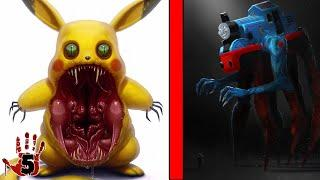 Top 5 Scary Monsters Inspired By Kids Cartoons