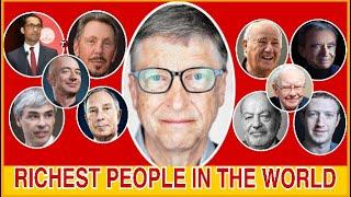 Top 10 Richest (Billionaire) People in the World