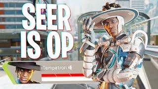 Seer is TOO Good in Apex Season 10... - Apex Legends Season 10 Seer Gameplay