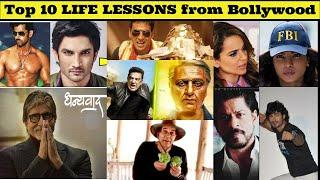 Top 10 life lessons from Bollywood actors and actresses | 2020 motivational video | Movieshuvie