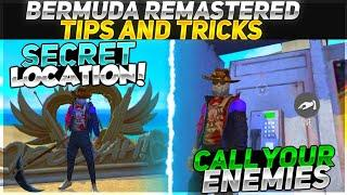 TOP 15 SECRET HIDDEN PLACES & TIPS AND TRICKS IN BERMUDA REMASTERED 2.0 IN FREE FIRE