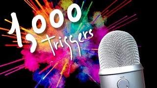 1,000 triggers in 10 minutes ASMR