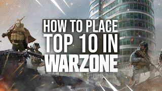 *NEW* How to place top 10 in WARZONE without using a loadout!