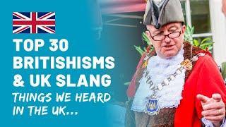 Top 30 UK Slang & Britishisms | Things We Heard British People Say | Americans React to UK Slang