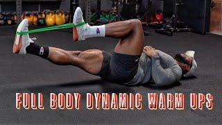 FULL BODY DYNAMIC WARM UP EXERCISES | ALL fitness Levels (Beginners and Advanced)
