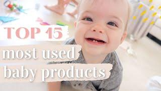 6-9 MONTH BABY ESSENTIALS 2020 | OUR TOP 15 MOST USED BABY PRODUCTS