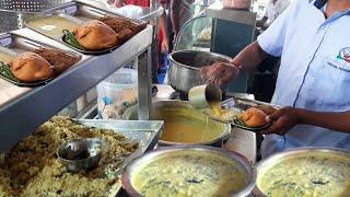 Famous Palak Vada & Kadhi of Nagpur | 100 Plates Finish an Hour | Indian Street Food