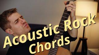 My Favorite Acoustic Rock Chord Progression ... Great for Songwriting.