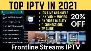 Top new IPTV Service in 2021 | FrontLine Streams IPTV Review