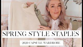 TOP 10 SPRING CAPSULE WARDROBE ESSENTIALS // Fashion Mumblr