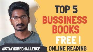 Top 5 Life Changing Bussiness Books | பிஸினஸ் ஆரம்பிக்கலாமா ?