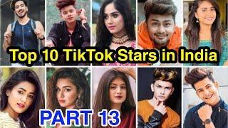 Top 10 Rising Tik Tok stars in India 2020 Part 13 | Top 10 Tik Tok stars