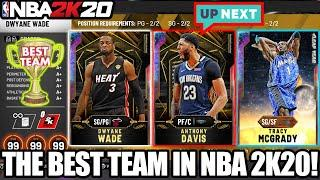 THE BEST TEAM IN NBA 2K20 MYTEAM THAT WE'VE EVER MADE + GETTING CLOSER TO GALAXY OPAL ANTHONY DAVIS