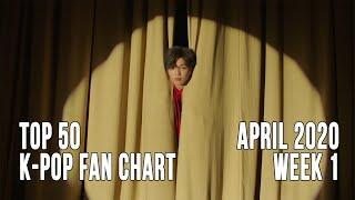 Top 50 K-Pop Songs Chart - April 2020 Week 1 Fan Chart