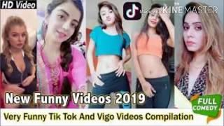 Top 10 vigo & Tiktok funny dramaa with girls jokes in funny & Comedy Channel