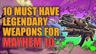 Borderlands 3 | 10 Must Have Legendary Weapons For Mayhem 10 - Best Legendaries