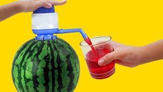 10 Amazing Watermelon LifeHacks!!