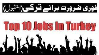 Top 10 jobs in turkey | Top highest paying jobs in turkey | Great jobs in turkey