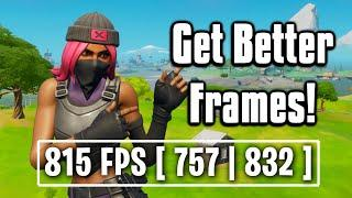 How To FIX Stutters & Frame Drops In Fortnite! - FPS Boost Guide!