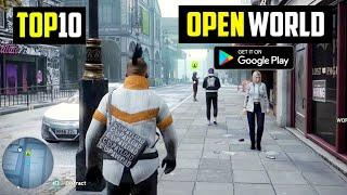 Top 10 New OPEN WORLD Games for Android 2021  10 Best Open World Games for Android