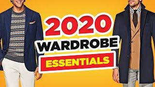 20 Wardrobe Essentials Every Guy Should Own in 2020