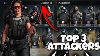 Top 3 BEST ATTACKERS in Area F2 (AF2)