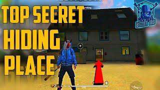 HIDING PLACE IN FREE FIRE || TOP ONE HIDDEN PLACE IN CLOCK TOWER 2020 - BEAST IAS
