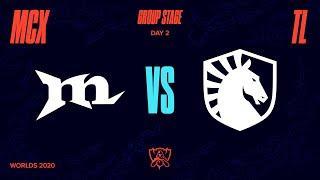 MCX vs TL | Worlds Group Stage Day 2 | Machi Esports vs Team Liquid (2020)
