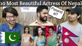 Pakistani Boys React on Top 10 Most Beautiful Actress Of Nepal 2020 | Top Nepali Actresses