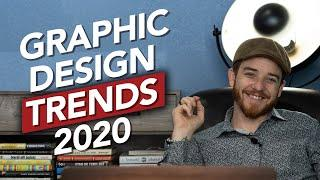 Top 10 Graphic Design Trends of 2020 | Tech is changing design!