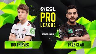 CS:GO - 100 Thieves vs. FaZe Clan [Inferno] Map 1 - Group A - ESL Pro League Season 10 Finals