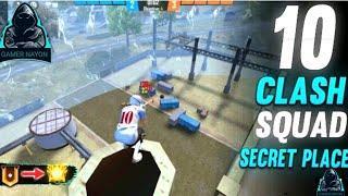Free Fire Secret Place/Top 10 Clash Squad tips and tricks/Clash Squad Hidden Place