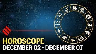 Weekly Horoscope: Your week ahead (02 - 07 Dec'19)