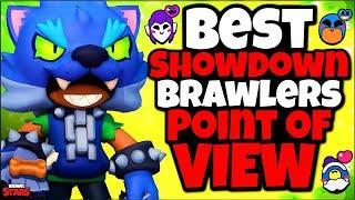 TOP 8 BEST Brawlers for Point of View in Showdown! - Brawler Tier list - Brawl Stars