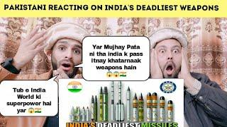 Pakistani Reaction On | India's Deadliest Missile - List Of Powerful Indian Missiles | Future Indian