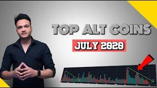 TOP ALTS COINS FOR JULY 2020 || ALT Season End Indicator to keep an eye on ||