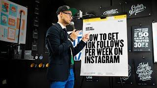 How To Get 10k Followers On Instagram Per Week
